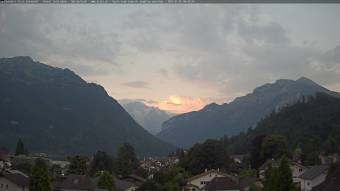 View over Interlaken
