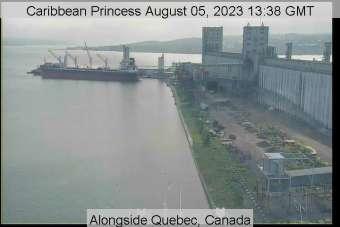 Caribbean Princess webcambeelden Vooraanzicht