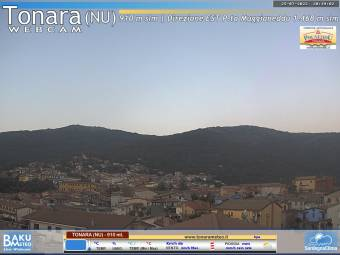 Webcam Tonara (Sardinia)
