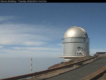 Webcam Nordic Optical Telescope