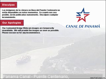 Webcam Panama Canal