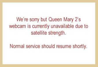 Webcam Queen Mary 2