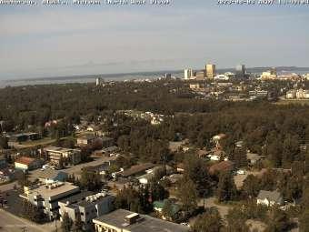 Webcam Anchorage, Alaska
