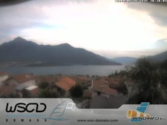 Webcam Domaso (Lake Como)