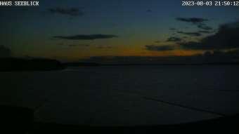 Rügens - Live Wetter Webcam Ostsee von der Ferienwohnanlage HAUS SEEBLICK in Lietzow