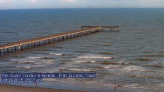 Webcam Port Aransas, Texas