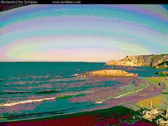 Webcam Cala Tarida (Ibiza)