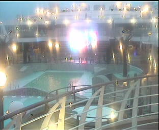 MSC Splendida Webcams Deck View