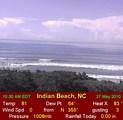 Webcam Indian Beach, North Carolina