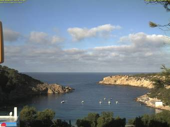 Webcam Cala Vadella (Ibiza)