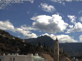 View over the Rooftops of Merano