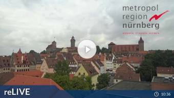 View over Nuremberg