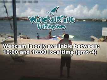 Webcam Caracas Baai, Curaçao