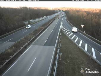 A643 Mainzer Ring Dreieck Mainz