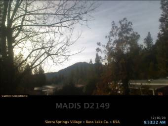 Webcam Bass Lake, California