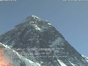 Webcam Mount Everest