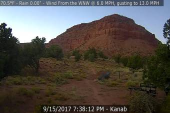 Webcam Kanab, Utah