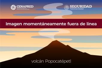 Popocatépetl 47 minutes ago