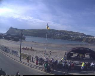 Webcam Port Erin