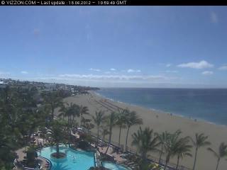 Webcam Puerto del Carmen (Lanzarote)