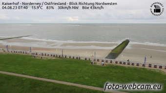 Webcam Norderney