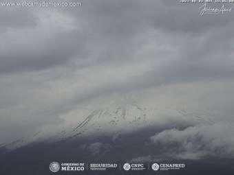 Webcam Popocatépetl