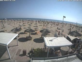 Webcam Miramare di Rimini: Bagno Rudy 144