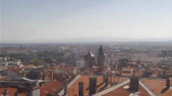 View over Clermont-Ferrand
