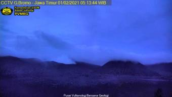 Webcam Mount Bromo