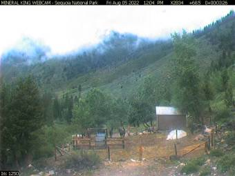 Webcam Mineral King, California
