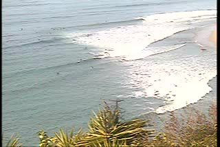 Webcam Topanga Beach, California