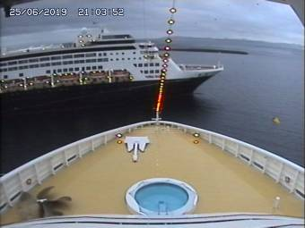 MSC Preziosa Webcams Bridge Cam