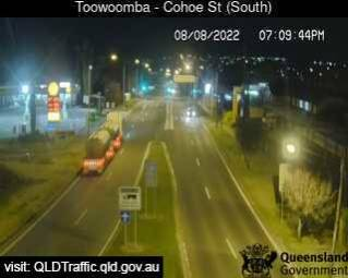 Toowoomba Range - Top (South to Cohoe Street)