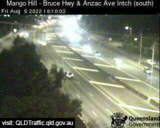 Bruce Highway and Anzac Avenue (looking South)