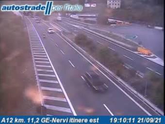 Traffic A12 - KM 11,2 - GE-Nervi itinere est