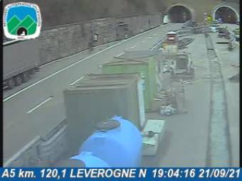 Traffic A5 - KM 120,1 - LEVEROGNE N 301
