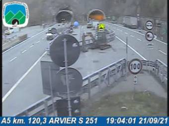 Traffic A5 - KM 120,3 - ARVIER S 251