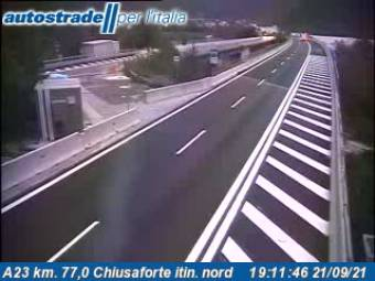 Webcam Chiusaforte