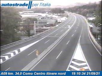 Traffic A09 - KM 34,0 - Como Sud itinere nord