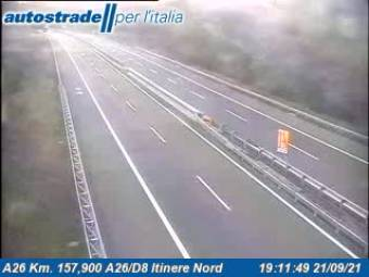 Traffic A26 - KM 157,9 - A26/D8 itinere nord