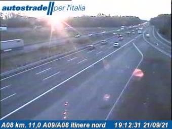 Traffic A08 - KM 11,0 - A09/A08 itinere nord