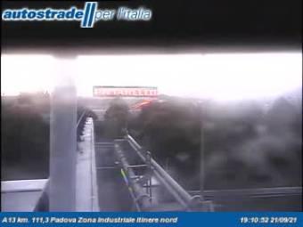 Padova - Traffic A13 - KM 111,3 - Padova Zona Industriale itinere nord ...