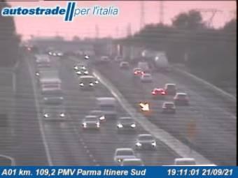Traffic A01 - KM 109,2 - PMV Parma Itinere Sud