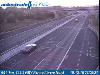 Traffic A01  - KM - 113,2 PMV Parma Itinere Nord