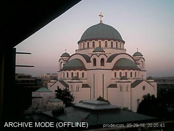 Webcam Belgrad