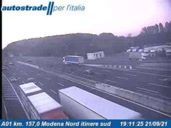 Traffic A01 - KM 157,0 - Modena Nord itinere sud