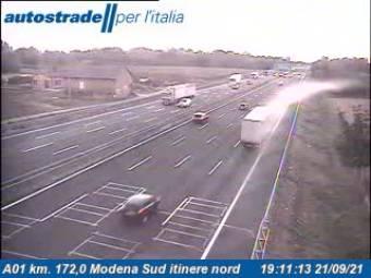 Traffic A01 - KM 172,0 - Modena Sud itinere nord