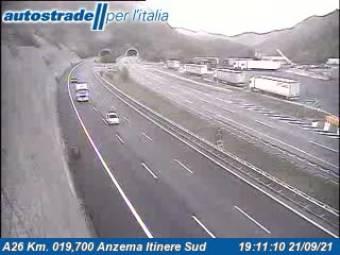 Traffic A26 - KM 19,7 - Anzema itinere sud