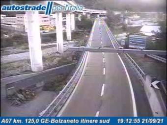 Traffic A07 - KM 125,0 - GE-Bolzaneto itinere sud