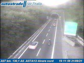 Traffic A07 - KM 130,1 - All. A07/A12 itinere nord